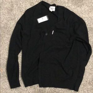 Marc Ecko Cut & Sew Black Cardigan